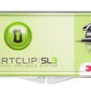 Kit Caso Brackets Autoligantes 3M Unitek SmartClip MBT 5×5 U/L Lt-Rt Hk .022