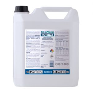 Potenza Desinfectante Amoniocuaternario Difem 5Lt