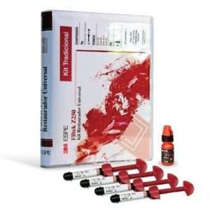 Restaurador Universal 3M ESPE Kit Filtek Z250 (5 Jeringas + Single Bond 2 de 3g Tonos A1, A2, A3, A3.5, B2)
