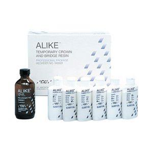 Acrilico ALIKE Kit  Profesional (6 Polvos 45g+ 1 Liq. 118ml)