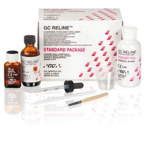 Rebase Duro GC RELINE Standard Package (Polvo 80g + Líquido 50ml)