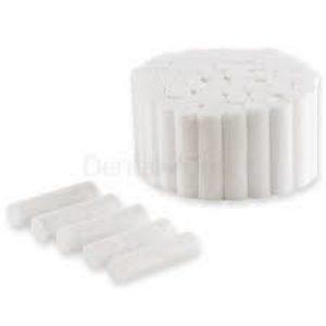Tórulas de Algodón Lisas Super Absorventes (20 rollos de 50 unidades)