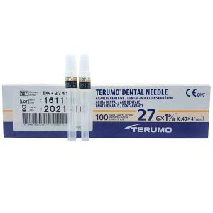Aguja Larga Terumo 27G (40 X 41 Mm)