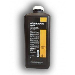 Bactericida Difem POVISEPT Povidona Yodada Solución Espumante Tópica 10% para Lavado de Manos y Piel