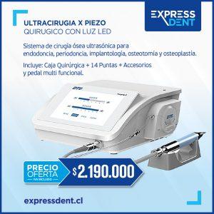 ULTRACIRUGIA X Piezo Quirúrgico con Luz LED