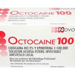 Octocaine 2% Lidocaina X 50 U Novocol