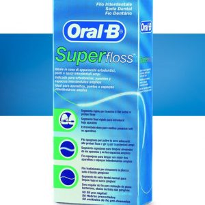 Hilo DentaL Super Floss 50 uds. Oral-B (3 EN 1)