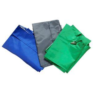 Pechera Plastica Verde Cl Adulto Velcro-