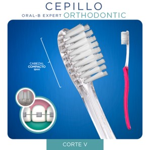 EXPERT – Cepillo Orthodontic ORALB