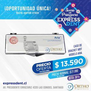 Caso Bracket 022 U-L Mbt Aria Ortho Organizers