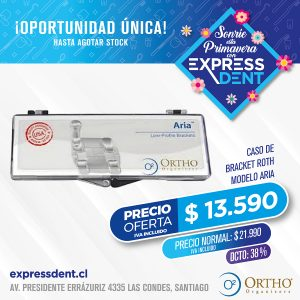 Caso Bracket 022 U-L Roth Aria Ortho Organizer