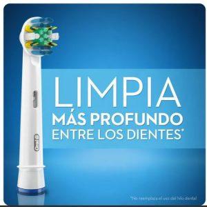 EXPERT – Repuesto Cabezal Cepillo Eléctrico Floss Action Premium 2 Uds