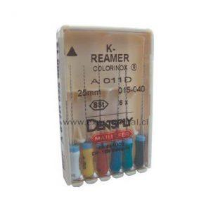 Ensanchador K-Reamer Colorinox 21Mm Nro.15