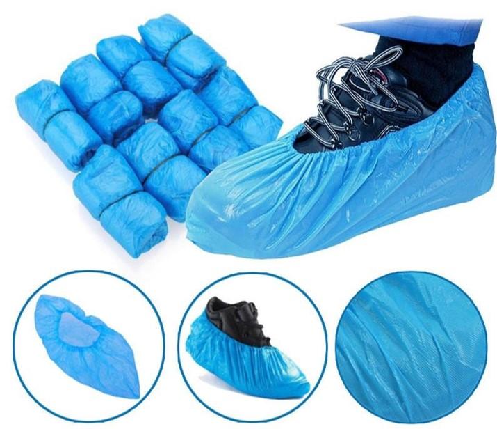 Cubre Calzado Plástico, Bolsa 100 Unidades