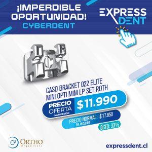 Caso de Bracket Elite Mini Opti MiM Roth