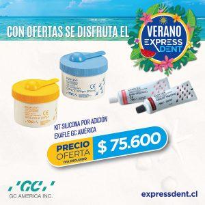 Pack Silicona por Adición Exaflex GC América