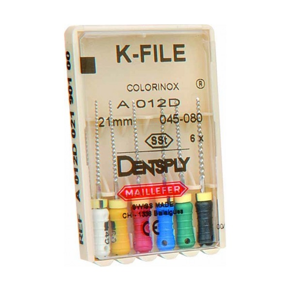 Lima K-File Colorinox 21Mm Nro.20