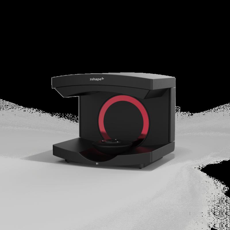 Escáner de Laboratorio Serie E1 Red 3Shape