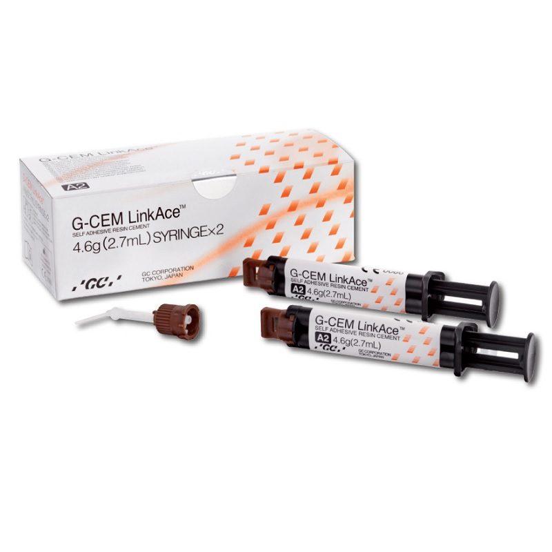 G-Cem LinkAce Translúcido /Cemento de resina dual GC